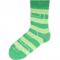 Unisex ponožky - fotbalové hřiště - WiTSocks