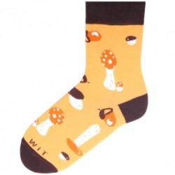 Unisex ponožky - houby - WiTSocks