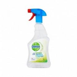 Antibakteriální čistící sprej na povrchy - limetka a máta - 500 ml - Dettol