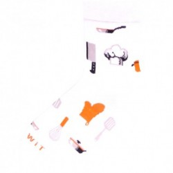 Unisex ponožky - kuchař - WiTSocks