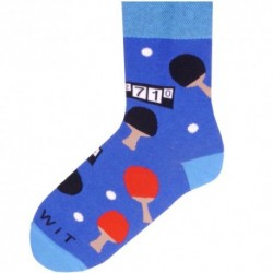 Unisex ponožky - ping-pong - WiTSocks
