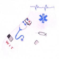Kotníkové unisex ponožky - lékař - WiTSocks