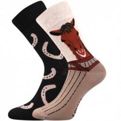 Unisex ponožky - kůň - WiTSocks