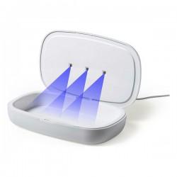 UV sterilizátor 146670 - s integrovanou bezdrátovou nabíječkou - bílý