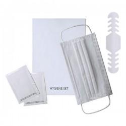Hygienický set proti koronaviru 142579 - bílý