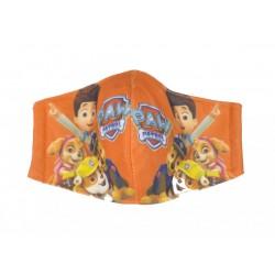 Dětská textilní rouška na více použití - se silnější látkou - Tlapková patrola - 1ks