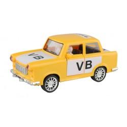 Retro autíčko Trabant 601 - s logem veřejné bezpečnosti - na setrvačník - 18 cm