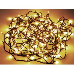 Venkovní LED světýlka - 13,5 m - 180 diod