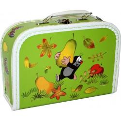 Kufřík na výtvarku - Krtek a hruška - malý - Kazeto