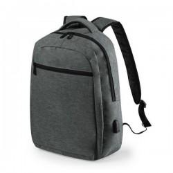 Univerzální batoh s USB portem 146453 - šedý