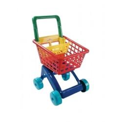 Dětský nákupní košík - červený - Dohány