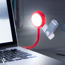 LED lampa do notebooku s USB porty 144858