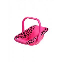 Autosedačka pro panenky - růžová - PlayTo