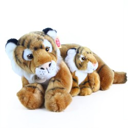 Plyšový tygr s mládětem - 37 cm - Rappa
