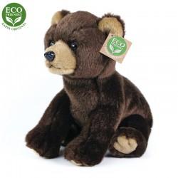 Plyšový medvěd - sedící - 25 cm - Rappa