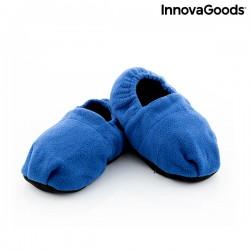 Pantofle ohřívatelné v mikrovlnné troubě - modré - InnovaGoods
