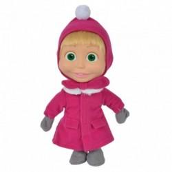 Máša v zimním kabátu - 23 cm - Máša a Medvěd - Simba
