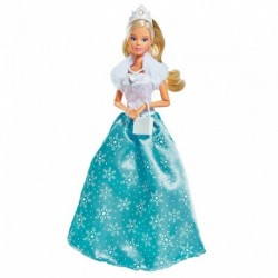 Šaty pro panenku Steffi - ledová princezna - Simba