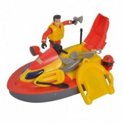 Požárnický vodní skútr Juno - s figurkou - Požárník Sam - Simba