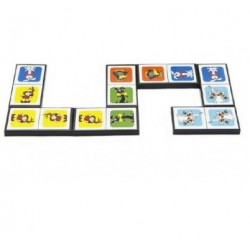 Hra Domino - Pojď s námi do pohádky - 28 ks - Rappa
