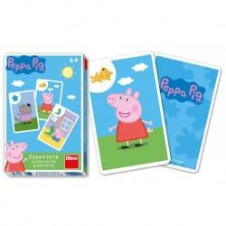 Karty Černý Petr - Prasátko Peppa - Dino Toys