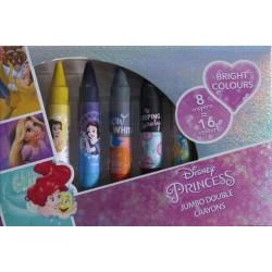 Oboustrané voskovky - s Disney princeznami - Jiri Models