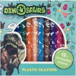 Šroubovací voskovky - s dinosaurem - Jiri Models