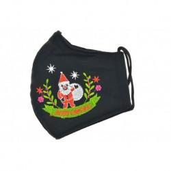 Rouška ze silnější textílie - Santa