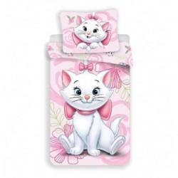 Povlečení z mikrovlákna - kočička Marie Pink 02 - 140 x 200 - Jerry Fabrics