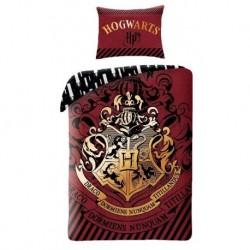Bavlněné povlečení - Harry Potter Burgund - 140 x 200 - Halantex
