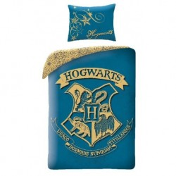 Bavlněné povlečení - Harry Potter Blue - 140 x 200 - Halantex