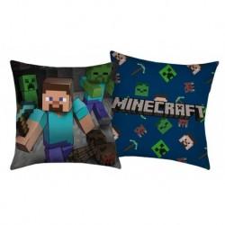 Polštářek Minecraft Steve - 40 x 40 - polyester - Halantex