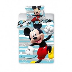 Bavlněné povlečení do postýlky - Mickey Happy - 100 x 135 - Faro