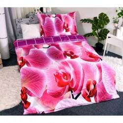 3D povlečení - Orchidej - 140 x 200 - polyester