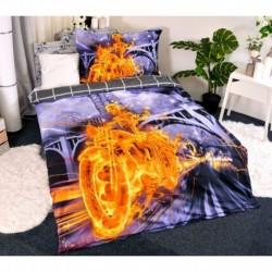 3D povlečení - Ghost Rider - 140 x 200 - polyester