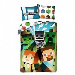 Bavlněné povlečení - Minecraft Alex a Steve - 140 x 200 - Halantex