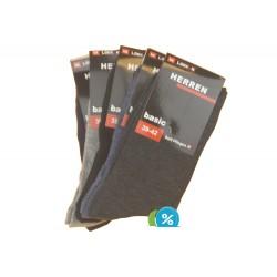 Pánské klasické ponožky ZTY-1622 - 5 párů - Looken Damen