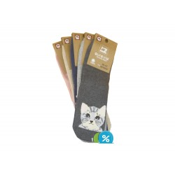 Dámské ponožky NP6652 - 5 párů - Auravia