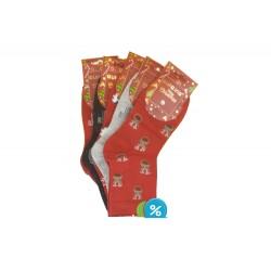 Dámské ponožky s vánočními motivy SN6669 - 5 párů - Auravia