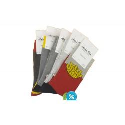 Pánské klasické ponožky FC6582 - 5 párů - Auravia