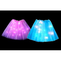 Princeznovská sukně s LED světlem