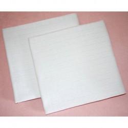 Bavlněná tetra osuška - bílá - 100 x 90 cm - Prem