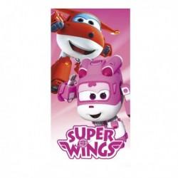 Osuška - Super Wings - růžová - 140 x 70 cm - Cerda