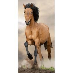 Osuška - Hnědý kůň - 140 x 70 cm - Jerry Fabrics