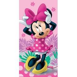 Osuška - Minnie 02 - růžová - 140 x 70 cm - Jerry Fabrics