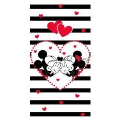 Osuška - Mickey a Minnie - 140 x 70 cm - Jerry Fabrics