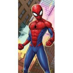 Osuška - Spiderman ve městě - 140 x 70 cm - Faro