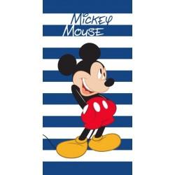 Osuška - Mickey Mouse - pruhovaná - 140 x 70 cm - Faro