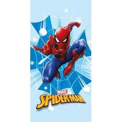 Osuška - Spiderman - modrá - 140 x 70 cm - Faro