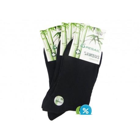 Pánské bambusové zdravotní ponožky Z-200C - 3 páry - Pesail